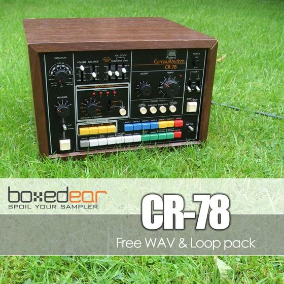 Free Roland CompuRythm CR-78 Samples | Kontakt Libraries